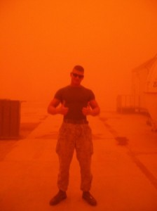 Marine Mike In Sandstorm